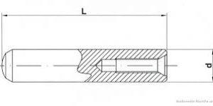 spine cilindriche con foro